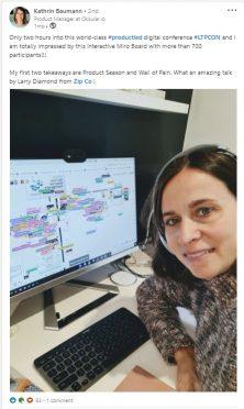 Kathrin Baumann Linkedin Post